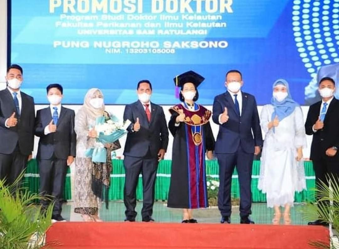 Berita Foto Menteri Kkp Edhy Prabowo Jadi Penguji Eksternal Promosi Doktor Di Unsrat Manado Teropongbmr Com